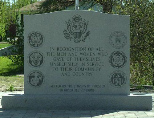 2014 Veterans Memorial Project for Swensen Memorials